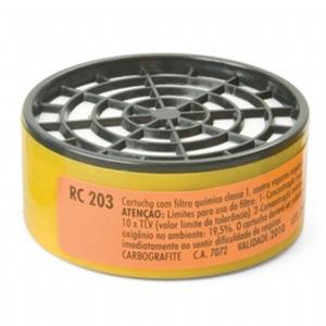 Cartucho para máscara respiratória RC203 - CARBOGRAFITE