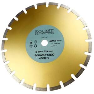 Disco Diamantado Asfalto 350mm - ROCAST Z-05039