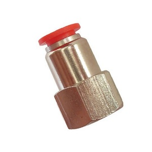 Conexão Reta FÊMEA 1/4 X 6mm - BEL AIR SPCFB 602