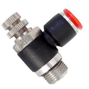 Conexão Joelho Controle de Fluxo 1/4 x 6mm - BEL AIR JSCB602