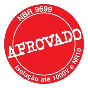 CHAVE FENDA ISOLADA GEDORE 150NR 1/8 x 6