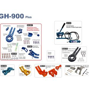 KIT CAMBAGEM DIANTEIRA GH-900 Plus