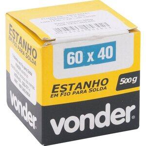 ESTANHO FIO 1.5 60 X 40 500GR