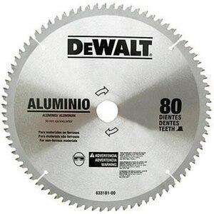 Disco Serra Circular Alumínio 10 Pol. 80D - DWA03210