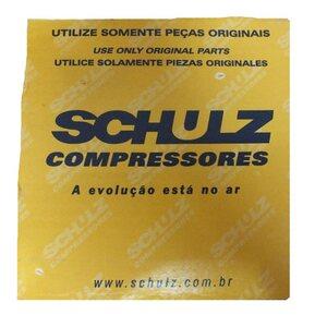 JOGO DE ANÉIS P/ COMPRESSOR DE AR MSI 10NH - SCHULZ 830.0623-0