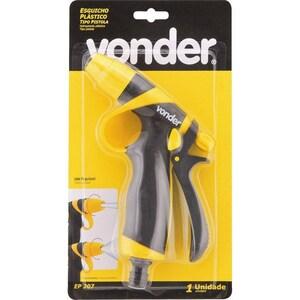 Esguicho plástico para jardim tipo pistola EP 207 - VONDER
