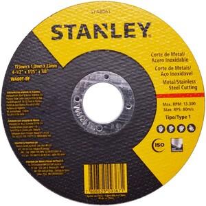 DISCO DE CORTE INOX 4.1/2 1.0MM STANLEY