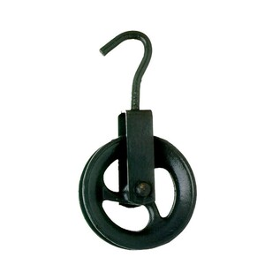 Roldana para poço gancho 18 cm - biehl
