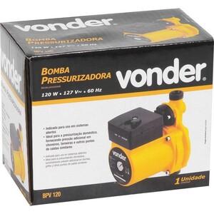 Bomba pressurizadora de 120 W  220 V  BPV 120  - VONDER 66.86.120.220