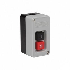 Interruptor de Tecla Bipolar 30A - Série CS-102 - preto/vermelho