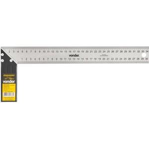 Esquadro para carpinteiro 12 com cabo de alumínio - VONDER 35.50.012.000