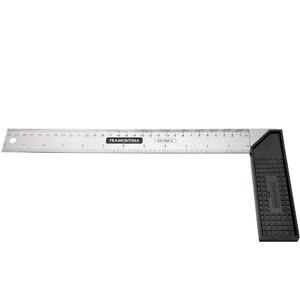Esquadro para carpinteiro 12 com cabo de PLÁSTICO - TRAMONTINA 43170/012