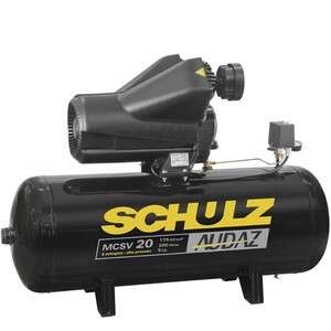 COMPRESSOR MCSV 20/200LTS 5HP S/RELE TERMICO AUDAZ