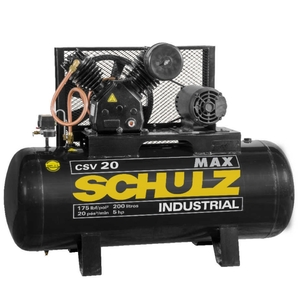 COMPRESSOR de AR CSV 20MAX/200 Litros 5hp 220V/380V - SCHULZ 922.9241-0