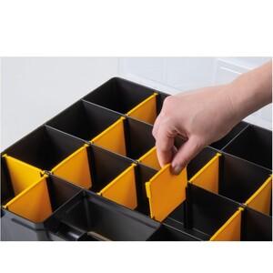 Maleta Organizadora Plástica 17 com Divisórias Móveis - TRAMONTINA