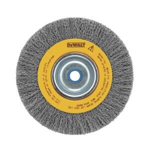 ESCOVA DE AÇO CIRCULAR 8 x 19mm COM FURO  - DW4906 - DEWALT