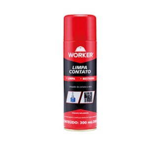 LIMPA CONTATO WORKER 300ml / 200g - WORKER