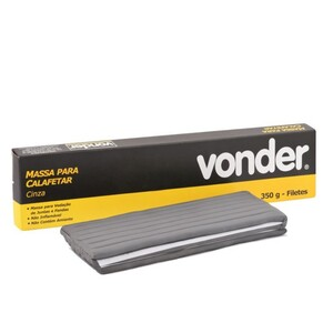 Massa para calafetar cinza em filetes 350 g - VONDER