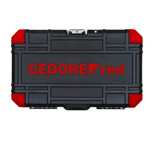 JOGO DE SOQUETES 1/4 SEXTAVADOS 46 peças - GEDORE RED