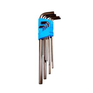 Jogo de Chave L allen 1,5 a 10mm longa com 9 peças - GEDORE