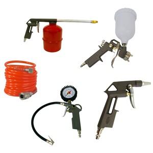 Kit para Compressor de ar com 5 Peças - INTECH