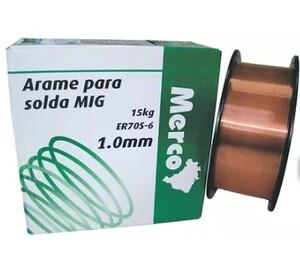 ARAME SOLDA MIG 1.0MM BOBINA COM 15 KG
