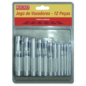 JOGO DE VAZADOR DE 3 A 19MM