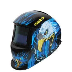 Máscara de solda águia com escurecimento automático tonalidade 9 à 13 - águia