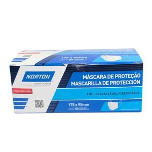 MASCARA DESCARTAVEL TNT CAIXA COM 50 UNIDADE