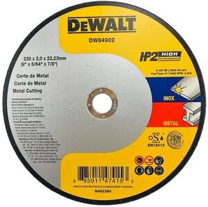 DISCO CORTE INOX 9 X 2,0MM X 7/8 - DW84902
