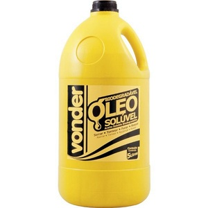 Óleo solúvel 5 litros - VONDER 51.29.025.000