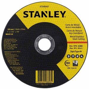 DISCO DE CORTE INOX 7 POL X 1,6 MM - STANLEY