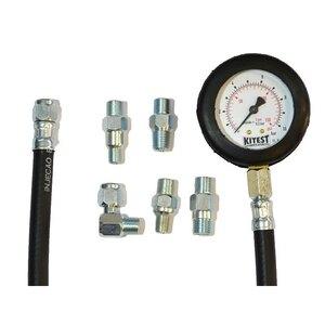 Medidor de pressão de óleo  com 5 adaptadores - KA 008/5